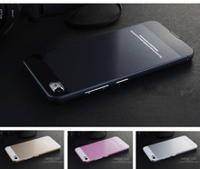 for Lenovo S90 Case New luxury metal Aluminum Frame Acrylic back Cover mobile phone Covers Protective cases for Sisley S90