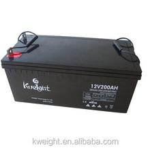 High performance gel battery 12v 200ah gel battery for ups and car