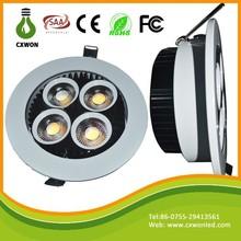 New Designed 20W led ceiling light modern AC85-265V COB adjustable recessed LED lighting Downlight for Hotel/home