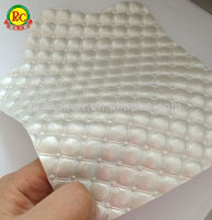 Luxury pvc sponge leather for furniture chair backing material