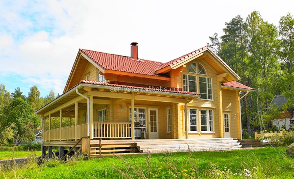 Maison Prefab Bois Rond Bois Maison en Bois Rond