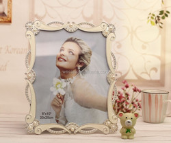 Pearl Square Photo Frame & Place Card Holder for Wedding Favors