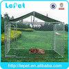 iron fence dog kennel/wooden dog fence/metal dog fence