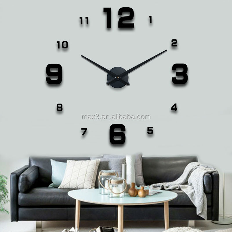 horloge murale grande marque. Black Bedroom Furniture Sets. Home Design Ideas