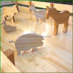 Hot Sale Children Animal Wooden Pet Toys For Kids