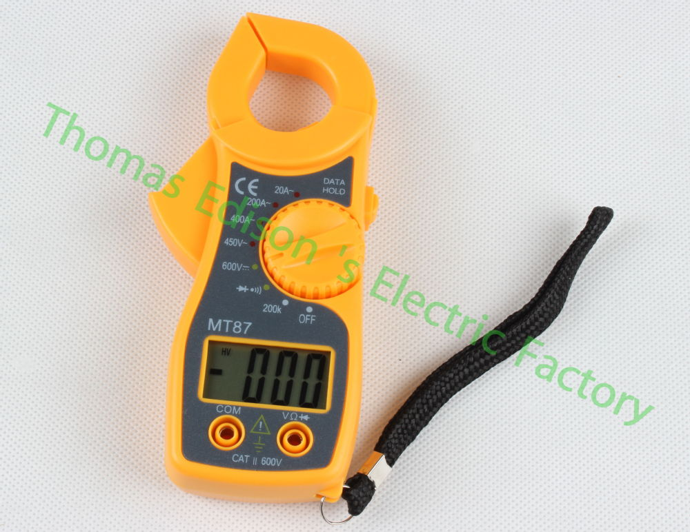 Clamp Meter How Much : Mt digital clamp meter multimeter voltage current