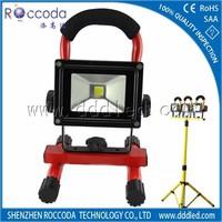 portable led battery work light with magnetic base 10w led work light