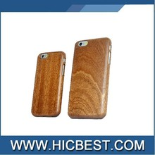 New Bamboo Natural Shockproof Hard Back Cover Case for iPhone 6 Plus