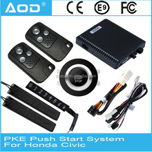 Smart key push button engine start system for Honda Civic 2015