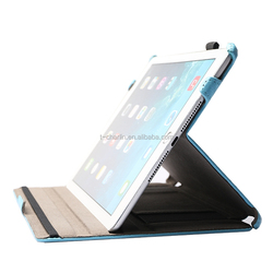 10.0 Inch Utral Slim Smart Heat Setting Leather PU Tablet Case for Ipad 6 (Air 2) with Stand and Handstrap