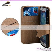 [Somostel] high quality anti scratch genuine leather raw material mobile phone cover