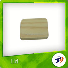Made In China top grade wooden lids for candle jar