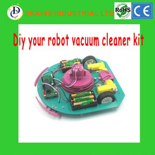 Factory Price Self assembly electronics education DIY robot vaccum kit