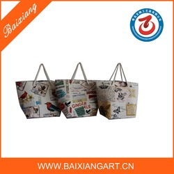 2015 Eco-friendly new style promotional canvas bag