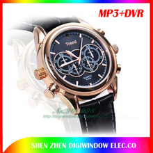 Ultra-thin digital Watch Camera with Mp3 player (DW-D-416)