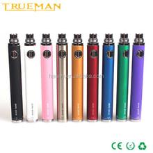evod twist 1300mah variable voltage battery Shenzhen electronic cigarette evod vv battery