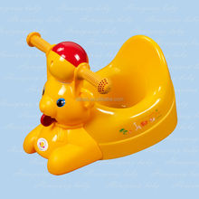 Baby animal potty training in funny animal style with ASTM F963-03 baby product