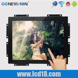 lcd new technology in China! 17 inch open frame LCD monitor for kiosk, gaming, vending, machine no frame lcd advertising monitor