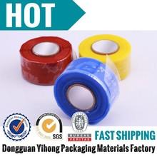 Rubber silicone material non adhesive anti corrosion tape