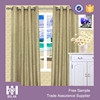 2015 high quality hot selling faux linen blackout window curtain