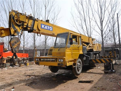 Japanese Kato NK250E used wheel mini truck crane, 25ton crane