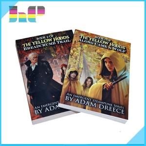 Impressão de Livros de Graphic Novels venda quente capa mole livro impressão da tela