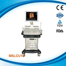 MSLCU15K Cardiac Portable Color Doppler Ultrasound Machine Price Medical 2D 3D 4D Echocardiography Ecografo USD Echo Machine