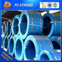 High tensile low relaxation 12.7mm prestress concrete steel strand