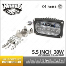 30w Rectangle LED Driving light ,LED Off Road Light for ATV,UTV,TRUCK ,4x4 Off road Used Work Light LED Car Accessory