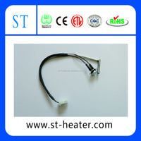 Cartridge heater with K type thermocouple with righ angle
