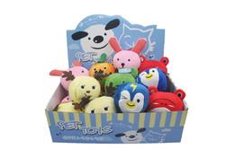 Amy carol cute design plush dog toys educational dog toys