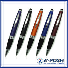 Promotional aluminum color ipad stylus pen for business advertising