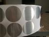plastic printable waterproof round label