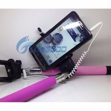 New design extendable selfie stick bluetooth monopod for all smartphones