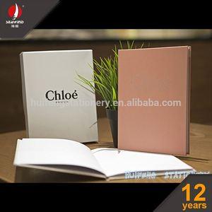2016 kraft paper blank notebook tessuto notebook