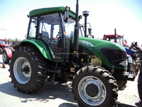 Big horse power 100hp 4wd four wheel drive 6 cylinders agricultural farm tractor