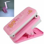 LED Rechargeable Clip Type Portable Folding Adjustable Light Electric Lamp