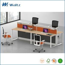 2015 commercial furniture MFC/MDF material 4 person models of office desk