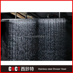"""24*31"""" square with 3 functions and 7 color LED mirror Surface 304 stainless steel LED bathroom accessories"""