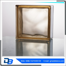 clear glass brick and colored glass brick jinghua brand