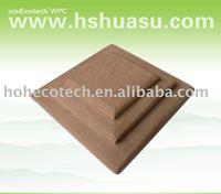 wood plastic composite WPC stair handrail end cap