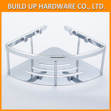 Stainless Steel Single Corner Caddy Basket Triangle Shape