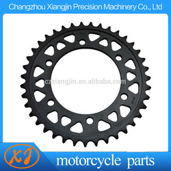 motorcycle parts 39T-48T steel rear sprocket for yamaha YZF R1 R6 R7 FZ1 FZ6 FZS1000 XJR1300