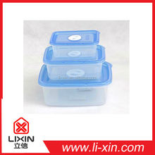 Plastic food containers, food storage box, food container,