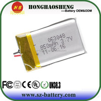 RC model lithium polymer battery mini helicopter battery 850mAh