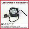 Factory Supplier 35w Led Work Light For Jeep Wrangler SUV ATV UTV Work Light Spot flood Led 12v 24v Offroad Led Lamp