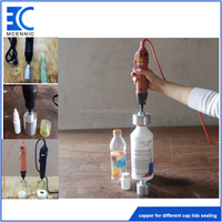 Electric handheld screw customized PET bottle capping machine