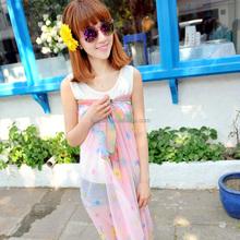 2015 fashion design woman lovely thai sarong scarf(PP655AL-C)