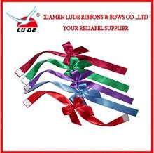 Self Adhesive Satin Ribbon Bow For Packing