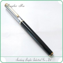 2015 New Classic Series Black and Gold Metal fountain pen gold